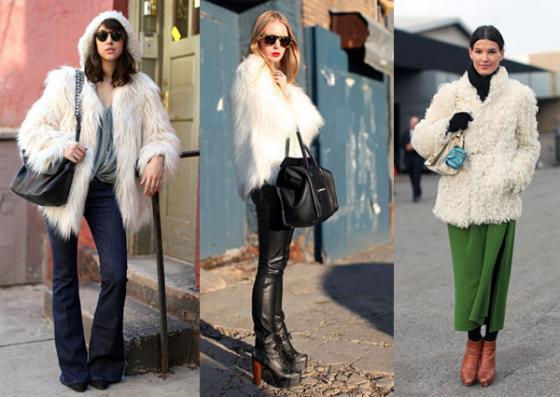 thời trang áo lạnh mùa đông 2014