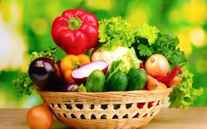 rau củ chứa nhiều chất xơ