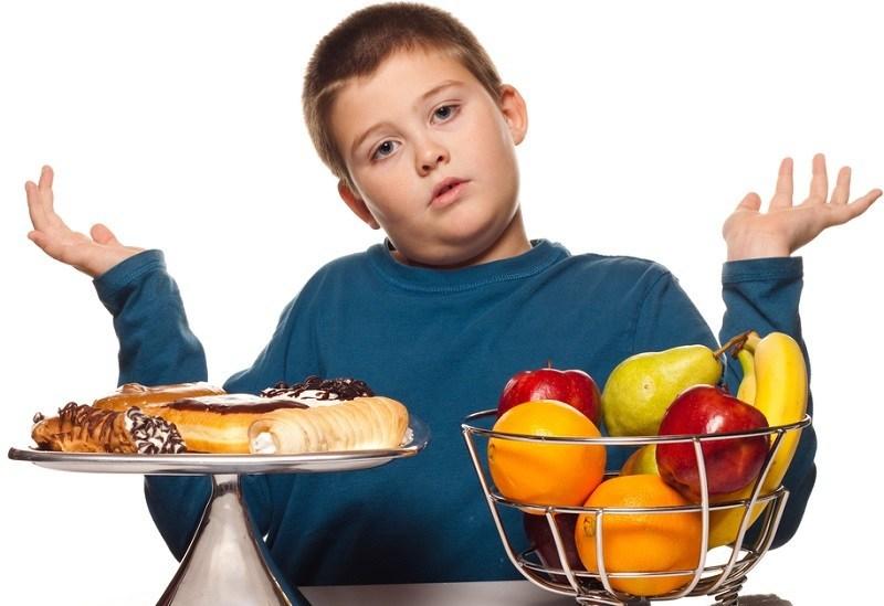 trẻ bị béo phì