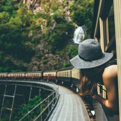 Du lịch phượt bằng xe lửa