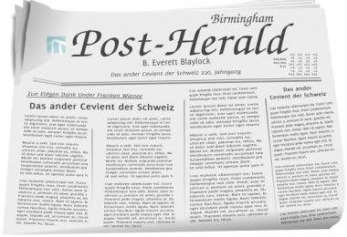 Những tờ báo chưa đọc có thể sử dụng để gói đồ.