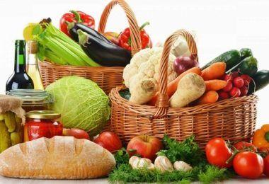 chế độ dinh dưỡng nhiều rau củ